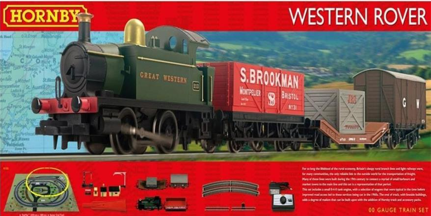 xxzTrain set: Western Rover - Toymod and ProMaster - importers and
